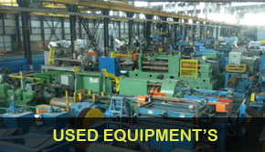 Used Equipment's